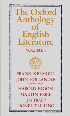 Oxford Anthology of English Literature The Middle Ages Through the 18th Century