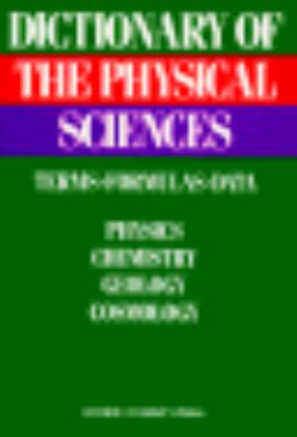 Dictionary of the Physical Sciences Terms, Formulas, Data