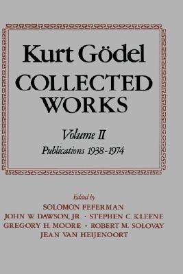 Collected Works Publications 1938-1974