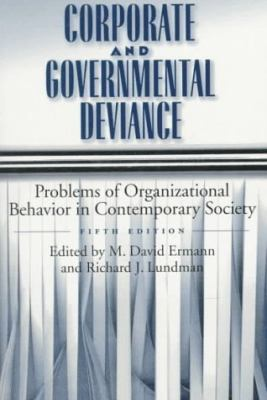 Corporate+governmental Deviance
