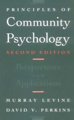 Principles of Community Psychology : Perspectives and Applications