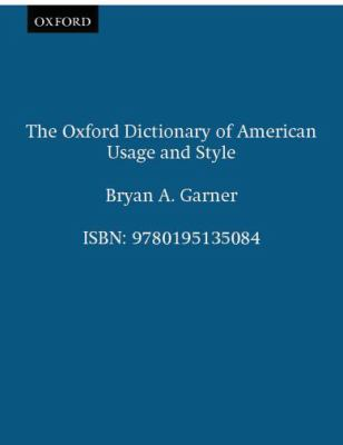 Oxford Dictionary of American Usage and Style