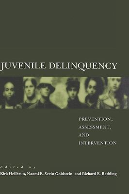 Juvenile Delinquency Prevention, Assessment, And Intervention