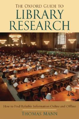 Oxford Guide To Library Research