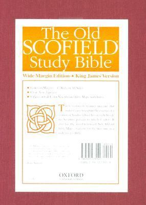 Old Scofield Study Bible, Wide Margin Edition King James Version, Center-Referenced, Concordance
