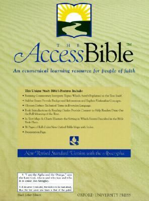 The Access Bible, New Revised Standard Version with the Apocrypha
