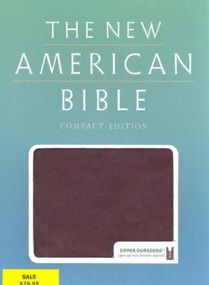 New American Bible Burgundy, Duradera Zipper