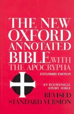 The New Oxford Annotated Bible with the Apocrypha, Revised Standard Version, Expanded Edition (Hardcover 8910A)
