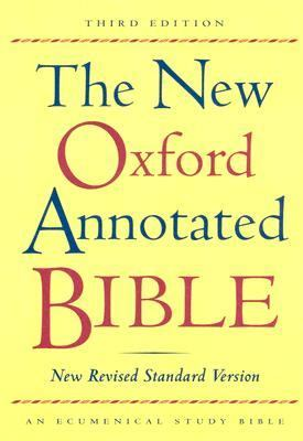 New Oxford Annotated Bible New Revised Standard Version