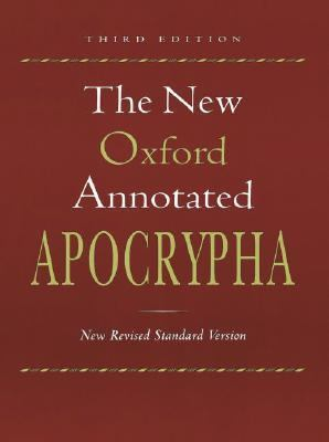 New Oxford Annotated Bible New Revised Standard Version Hardcover Indexed 9700