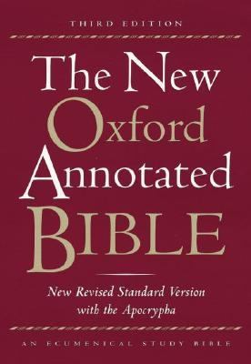 New Oxford Annotated Bible With the Apocrypha New Revised Standard Version Hardcover Indexed 9700A