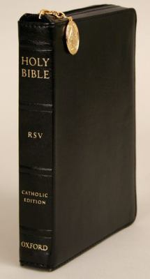 Holy BibleThe Revised Standard Version Catholic Bible Revised Standard Version, Catholic Edition Black, Zipper Duradera