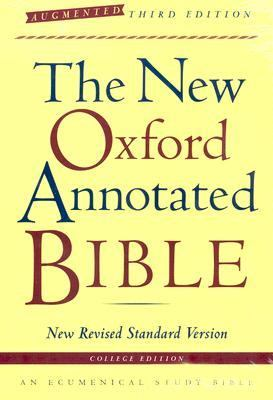 New Oxford Annotated Bible New Revised Standard Version, Augmented