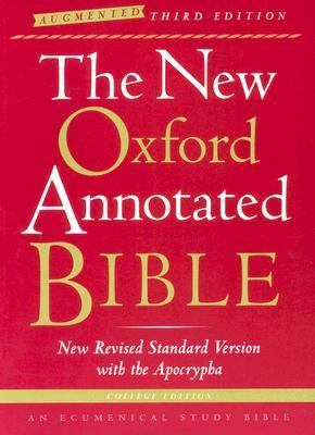 New Oxford Annotated Bible New Revised Standard Version, Augmented, With the Apocryphal