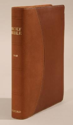 Holy Bible New American Bible, Black burgundy Bonded Leather, Basketweave, Thumb Index, Reader's Edition