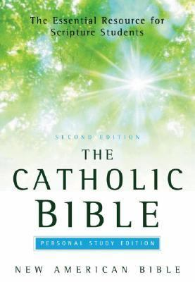 Catholic Bible New American Bible, Personal Study Edition, Indexed