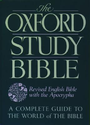 Oxford Study Bible Revised English Bible With Apocrypha