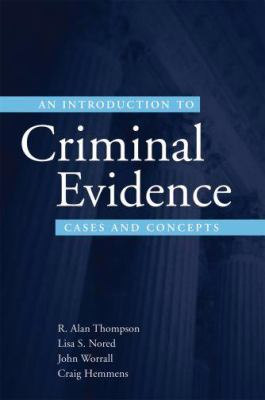 Introduction to Criminal Evidence