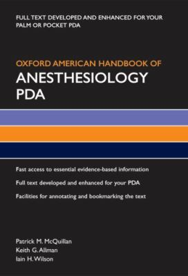 Oxford American Handbook of Anesthesiology PDA