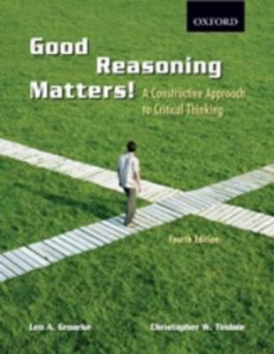 Good Reasoning Matters!