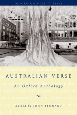 Australian Verse An Oxford Anthology