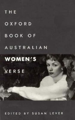 Oxford Book of Australian Women's Verse