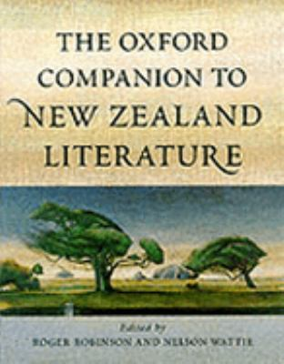Oxford Companion to New Zealand Literature