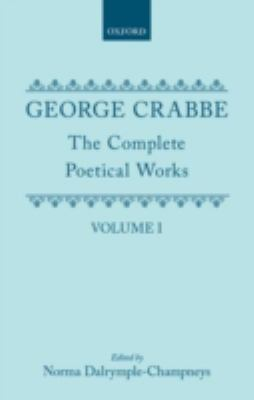 The Complete Poetical Works: Volume 1 (Oxford English Texts)