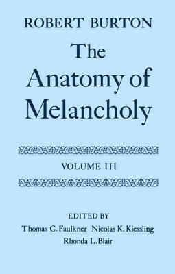 Anatomy of Melancholy Text