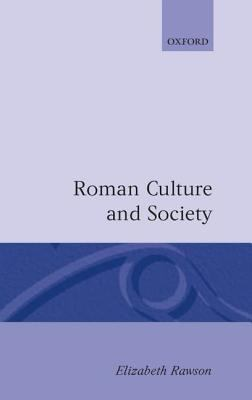 Roman Culture and Society The Collected Papers