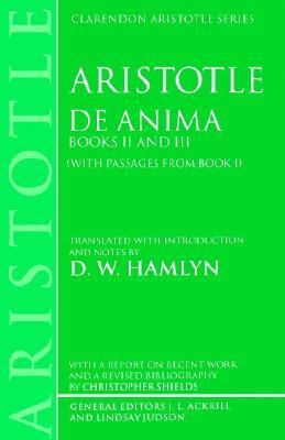 De Anima Books II and III