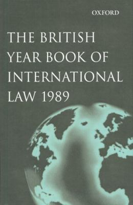 British Year Book of International Law 1989