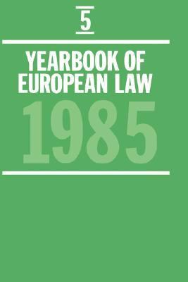 Yearbook of European Law, 1985