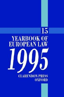 Yearbook of European Law - 1995