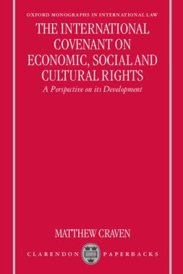 International Covenant on Economic, Social and Cultural Rights A Perspective on Its Development