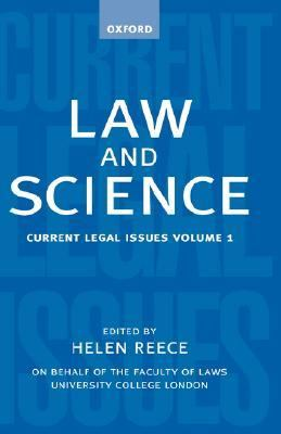 Law and Science Current Legal Issues 1998