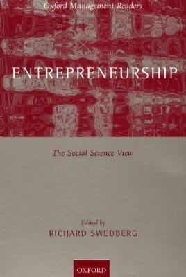 Entrepreneurship A Social Science View