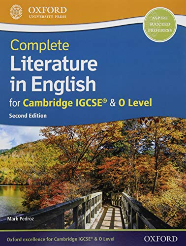 Complete Literature in English for Cambridge IGCSE & O Level: Print & Online Student Book Pack