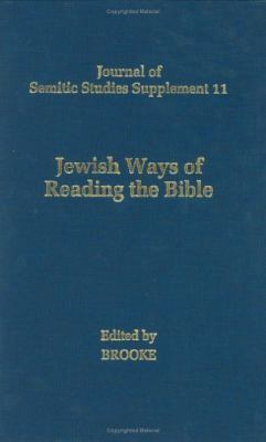 Jewish Ways of Reading the Bible