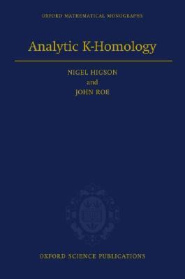 Analytic K-Homology