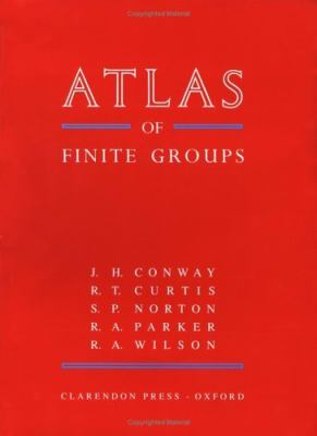 Atlas of Finite Groups Maximal Subgroups and Ordinary Characters for Simple Groups
