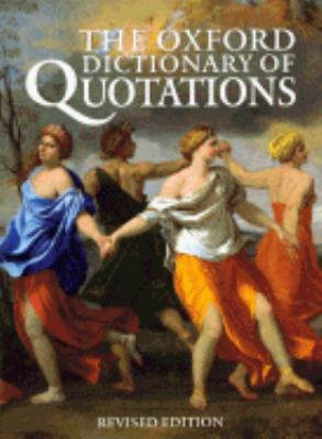 Oxford Dictionary of Quotations - Angela Partington