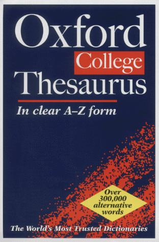 The Oxford College Thesaurus