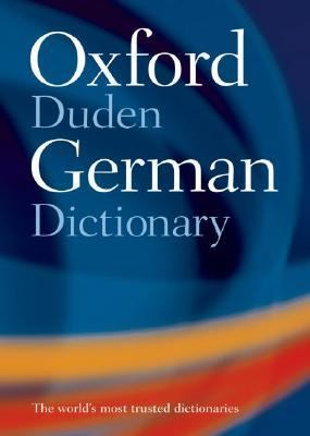 Oxford-Duden German Dictionary German-English / English-German