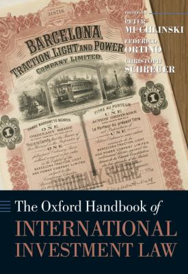 Oxford Handbook of International Investment Law