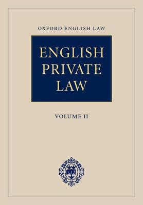 English Private Law : Second Cumulative Updating Supplement