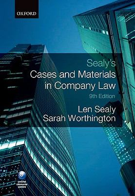 Cases and Materials in Company Law