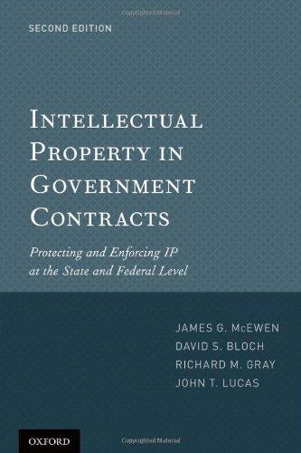 Intellectual Property in Government Contracts: Protecting and Enforcing IP at the State and Federal Level