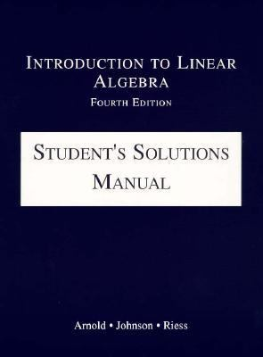 Intro.to Linear Algebra-stud.soln.man.
