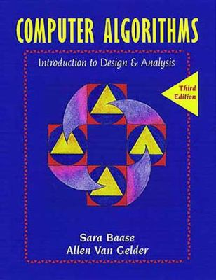 Computer Algorithms: Introduction to Design and Analysis (3rd Edition)